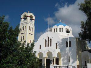 Santorini-Church