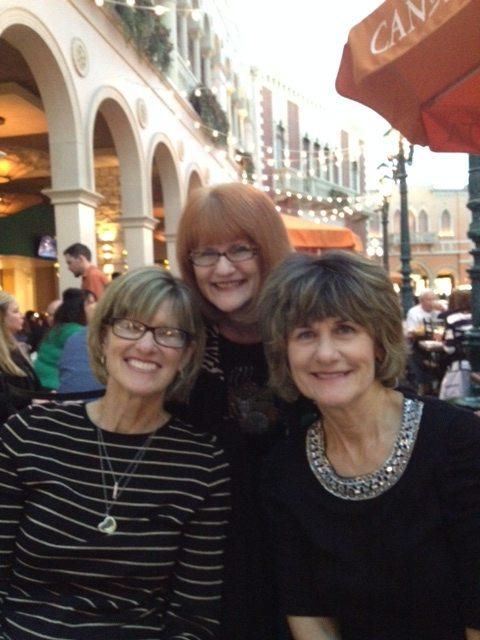 Family - Carole, Jane & Me in Vegas 2014