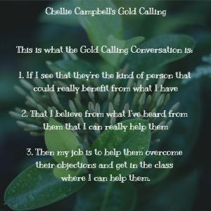 Chellie Meme - Gold Calling 123